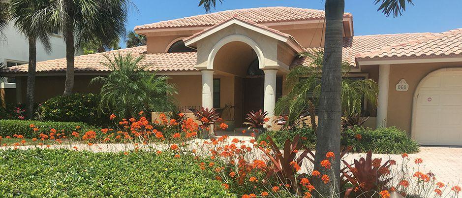 Sarasota landscaping design company - landscape maintenance